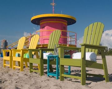 Picture of Polywood South Beach Dining Chair Recycled Plastic
