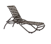 Picture of Tropitone La Scala Cross Strap Pool Chaise Lounge, Stackable, 23 lbs.