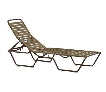 Picture of Tropitone Tropi-Kai Strap Pool Chaise Lounge, Stackable, 21 lbs.