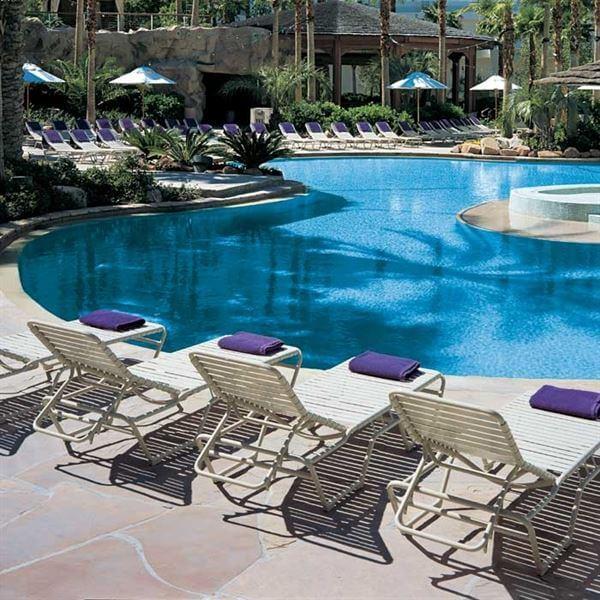 Tropitone Tropi Kai Strap Pool Chaise Lounge Stackable 21 Lbs