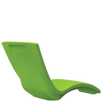 Picture of Tropitone In-Pool Furniture, Curve Chaise Lounge made of Rotoform Polymer, Stackable, 50 lbs.