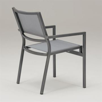 Picture of Tropitone Cabana Club Sling Dining Chair, Stackable, 8.5 lbs.