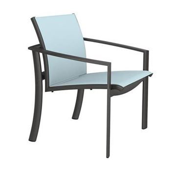 Picture of Tropitone KOR Relaxed Sling Dining Chair, Stackable, 11.5 lbs.