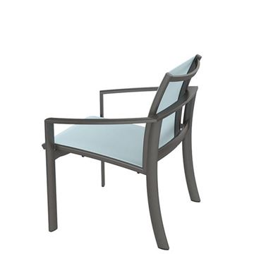 Tropitone KOR Relaxed Sling Dining Chair