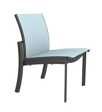 Picture of Tropitone KOR Relaxed Sling Side Chair, Stackable, 10.5 lbs.