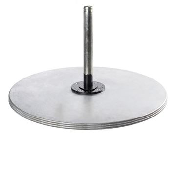 Picture of 70 lb. Galvanized Steel Umbrella Base, Under Table Use or Freestanding