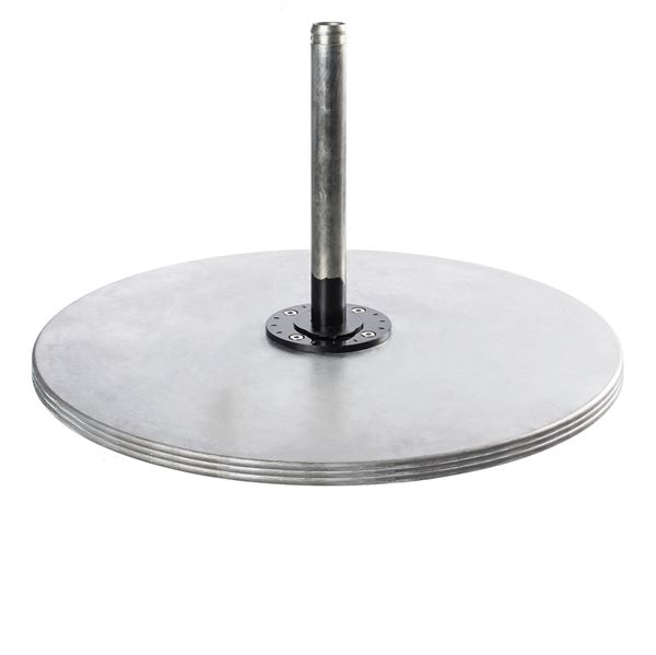 Galvanized Steel Umbrella Base, Freestanding Use Only