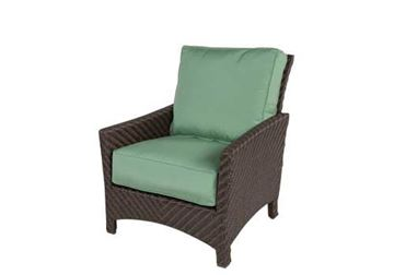 Picture of Sectional Wicker Box & Welt Deep Seat Cushion Lounge Chair, Palmer Woven Collection, 35 lbs.