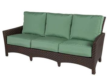 Picture of Wicker Box & Welt Deep Seat Cushion Sofa, Palmer Woven Collection, 65 lbs.