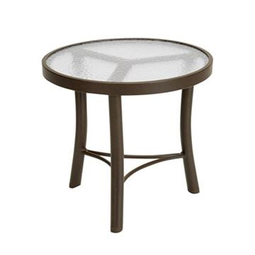 "Picture of Acrylic Round 20"" Diameter x 18.5"" H Pool Side Tea Table"