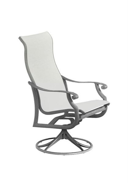 Picture of Tropitone Montreux Sling High Back Swivel Rocker, 14.5 lbs.