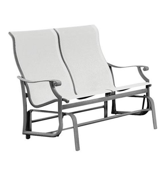 Picture of Tropitone Montreux Sling Double Glider, 31 lbs.