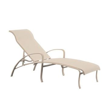 Picture of Tropitone Spinnaker Sling Chaise Lounge, Stackable, 22 lbs.