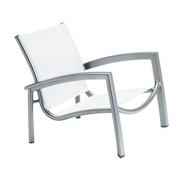 Picture of Tropitone South Beach Relaxed Sling Spa Chair, Stackable, 9 lbs.