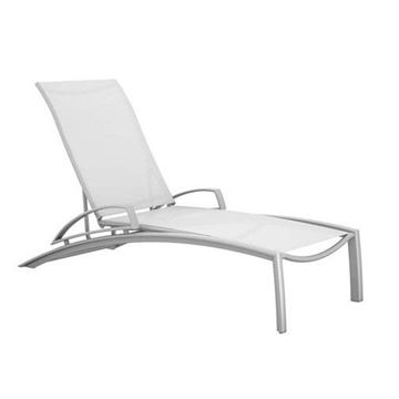 Picture of Tropitone South Beach Relaxed Sling Chaise Lounge, 56 lbs.