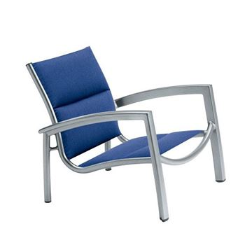 Picture of Tropitone South Beach Padded Sling Spa Chair, Stackable, 12 lbs.