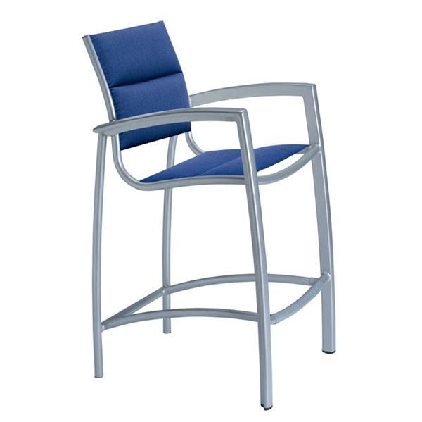 Tropitone South Beach Padded Sling Bar Stool
