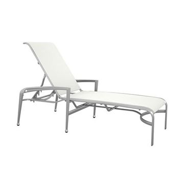 Picture of Tropitone Veer Sling Chaise Lounge, Stackable, 32.5 lbs.
