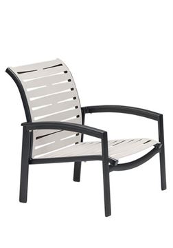Picture of Tropitone Elance EZ Span Vinyl Strap Spa Chair, Stackable, 9 lbs.