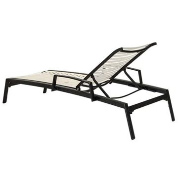 Picture of Tropitone Elance EZ Span Vinyl Strap Chaise Lounge, Stackable,  35.5 lbs.