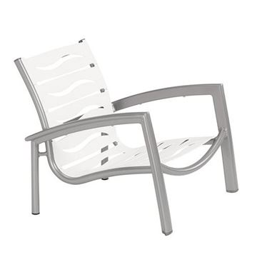 Picture of Tropitone South Beach EZ Span Vinyl Strap Spa Chair, Stackable, 12 lbs.