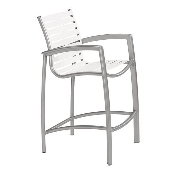 Picture of Tropitone South Beach EZ Span Vinyl Strap Bar Stool, 16 lbs.
