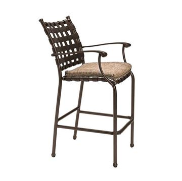Tropitone Sorrento Cross Strap Bar Stool