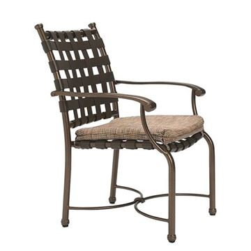 Tropitone Sorrento Cross Strap Dining Chair