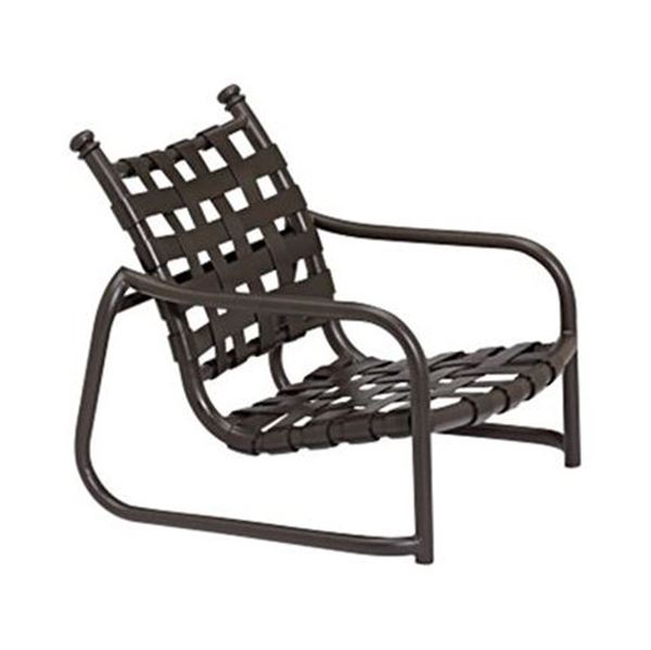 Picture of Tropitone La Scala Cross Strap Sand Chair, Stackable, 10 lbs.