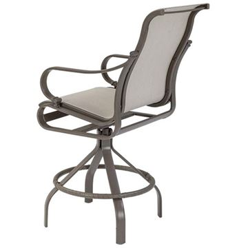 Tropitone Torino Sling Swivel Bar Stool