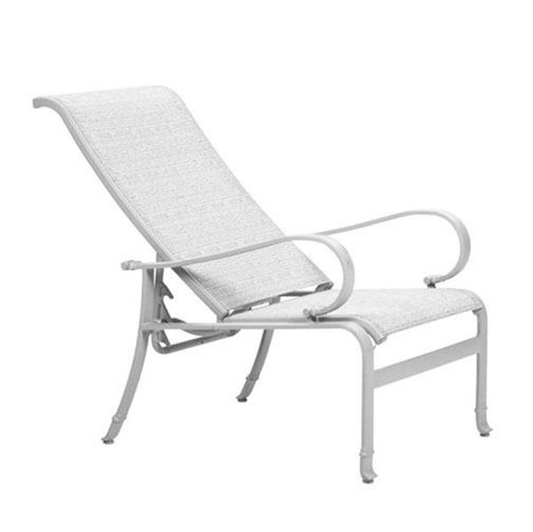 Picture of Tropitone Torino Sling Recliner, 13.5 lbs.