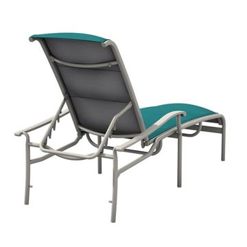 Tropitone Sorrento Padded Sling Chaise Lounge