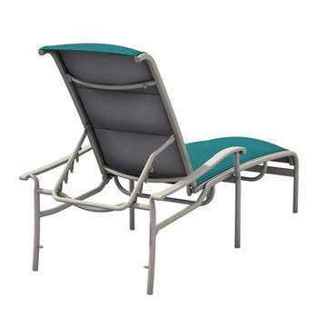 Tropitone Sorrento Padded Sling Chaise Lounge