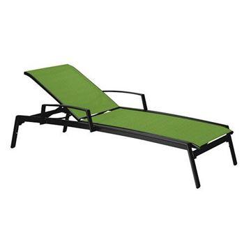 Picture of Tropitone Elance Relaxed Sling Chaise Lounge, Stackable, 28 lbs.