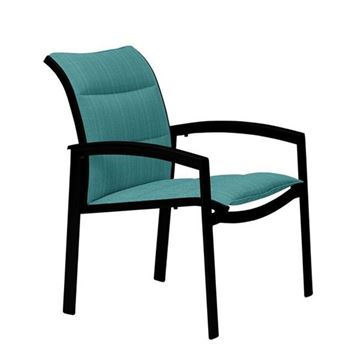 Picture of Tropitone Elance Padded Sling Dining Chair, Stackable, 13.5 lbs.