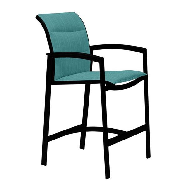Picture of Tropitone Elance Padded Sling Bar Stool, 15.2 lbs.