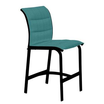 Picture of Tropitone Elance Padded Sling Armless Bar Stool, 15.2 lbs.