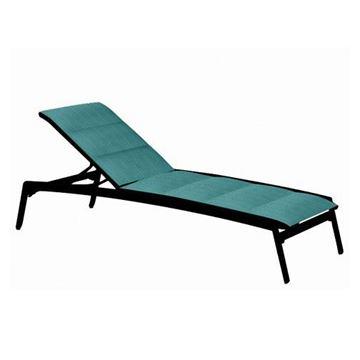 Tropitone Elance Padded Sling Armless Chaise Lounge