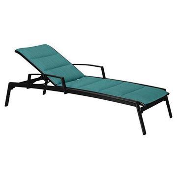 Tropitone Elance Padded Sling Chaise Lounge