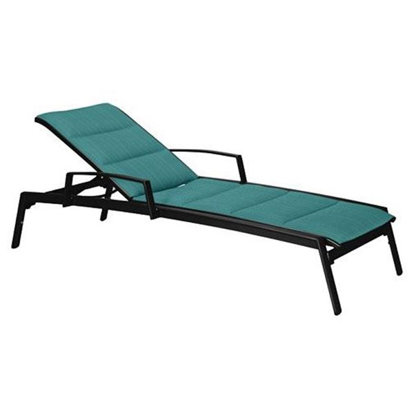 Picture of Tropitone Elance Padded Sling Chaise Lounge, Stackable, 36 lbs.