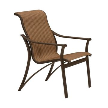 Picture of Tropitone Corsica Sling Dining Chair, 13 lbs.