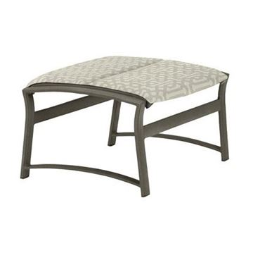Picture of Tropitone Corsica Padded Sling Ottoman, 9 lbs.