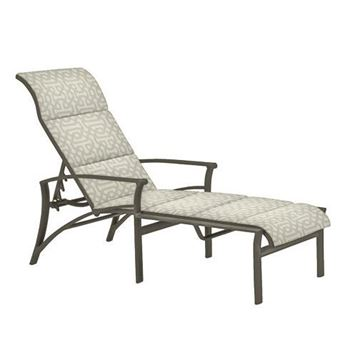 Picture of Tropitone Corsica Padded Sling Chaise Lounge, 28 lbs.