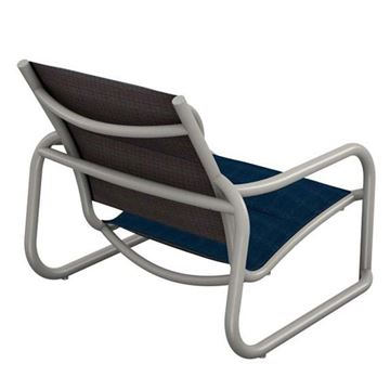 Picture of Tropitone La Scala Padded Sling Sand Chair with Sled Base,  12 lbs.