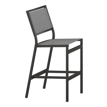 Picture of Tropitone Cabana Club Sling Armless Bar Stool, 12.5 lbs.