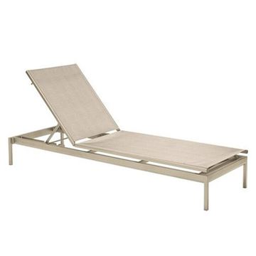 Picture of Tropitone Cabana Club Relaxed Sling Armless Chaise Lounge, 31 lbs.