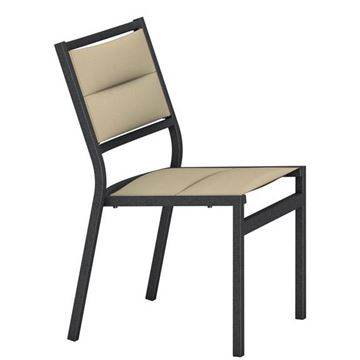 Picture of Tropitone Cabana Club Padded Sling Side Chair, Stackable, 10 lbs.