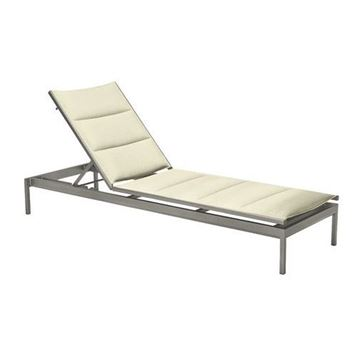 Picture of Tropitone Cabana Club Padded Sling Armless Chaise Lounge, 32 lbs.