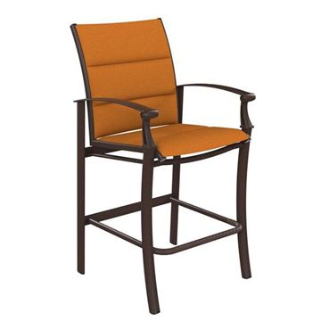 Picture of Tropitone Cantos Padded Sling Bar Stool, 19 lbs.