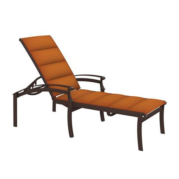 Tropitone Cantos Padded Sling Chaise Lounge
